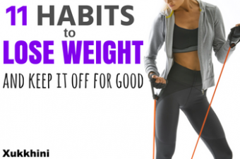 11 habits to lose weight