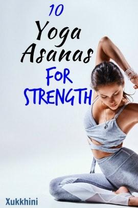 Yoga Asanas For Strength