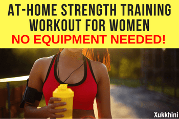 athome strength training workout no equipment needed