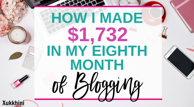 blog income report March