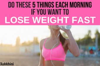 Do These 5 Things in The Morning if You Want to Lose Weight