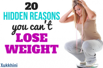 20 Hidden Reasons Why You Can't Lose Weight: And How to Avoid Them