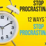 Stop-Procrastinating