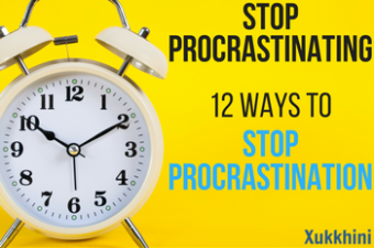 Stop Procrastinating: 12 Ways to Stop Procrastination (And Achieve More!)