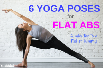 yoga poses for flat abs